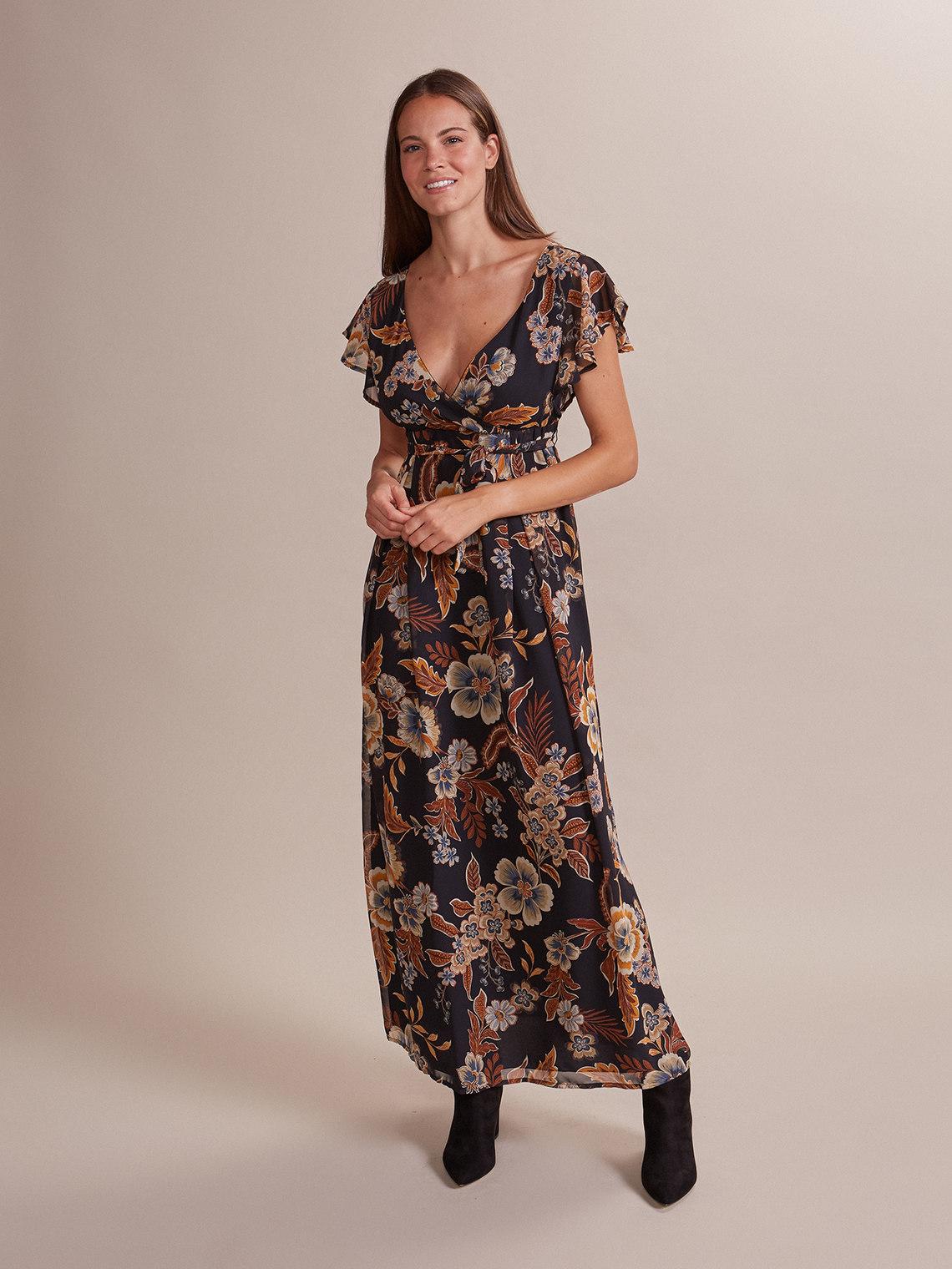 low priced 7b166 eec6b Vestito lungo fantasia floreale - Oltre.com