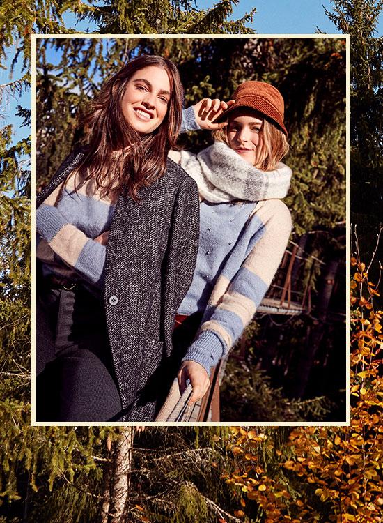 OLTRE: saldi maglie e felpe collezione autunno inverno