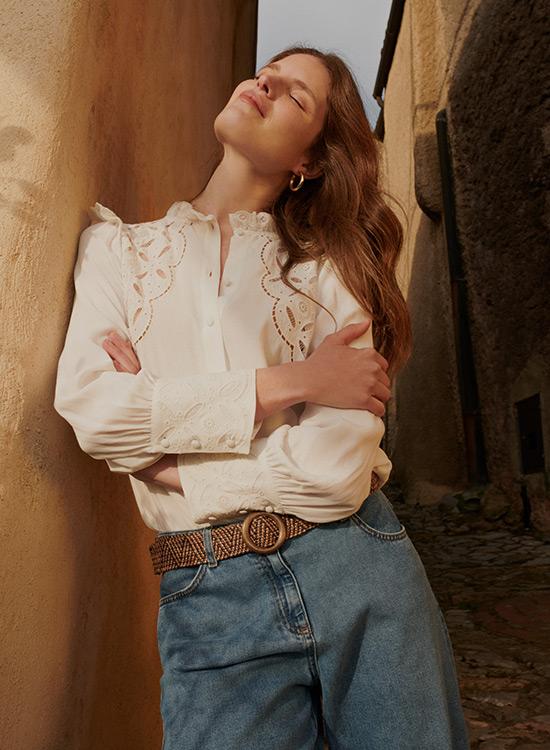 OLTRE: collezione collezione primavera estate 2021 camicie e bluse