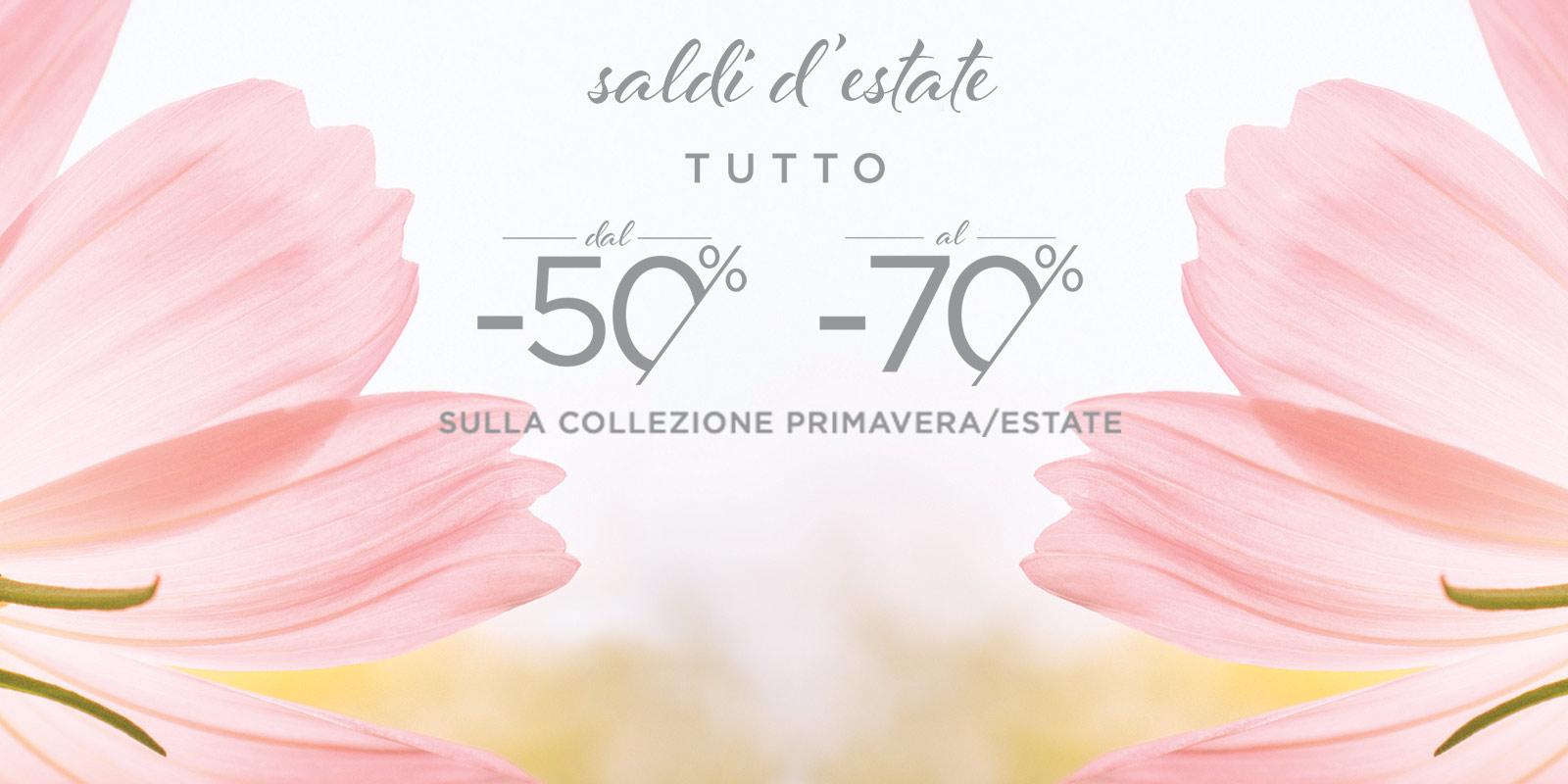 Oltre: saldi collezione primavera estate TUTTO DAL -50% al -70%