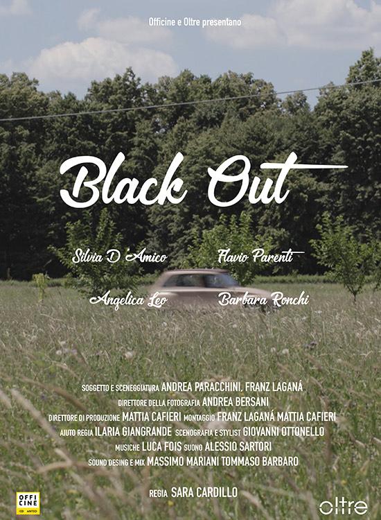 OLTRE: LOCANDINA CORTOMETRAGGIO BLACK OUT